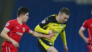 Declan John (left) is now back with Cardiff City