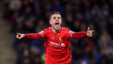 Jordan Henderson: Touted as heir to Steven Gerrard for Liverpool and England
