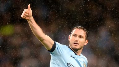 Frank Lampard: Believes Manchester City can win the first Champions League