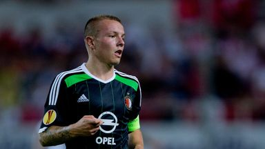 Jordy Clasie: Scored for Feyenoord against Groningen