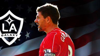 Steven Gerrard: Heading for the United States