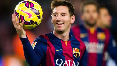 Lionel Messi: Happy at the Nou Camp says Barcelona president Josep María Bartomeu