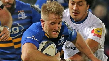 Luke Fitzgerald: Hoping his Leinster form can propel him into Ireland team