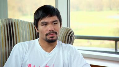 Manny Pacquiao: says it's now or never to Floyd Mayweather