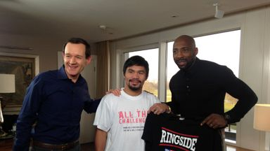 Manny Pacquiao Ringside Special