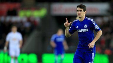 Oscar: Set to remain at Stamford Bridge despite Juventus reports