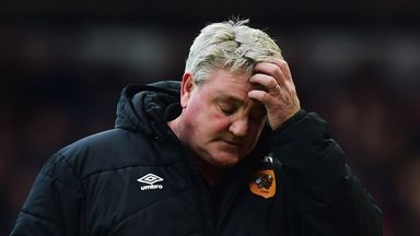 Steve Bruce: Disappointed with his side