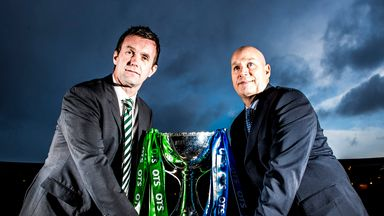 Ronny Deila and Kenny McDowall go head-to-head in the semi-final