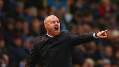 Sean Dyche: Burnley manager was unable to add to squad on deadline day