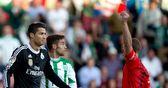 Ronaldo sees red