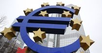 Weak: The value of the euro has declined