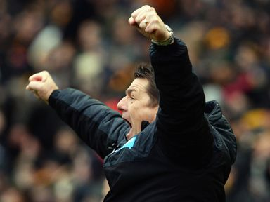 There was delight for Newcastle and John Carver at Hull