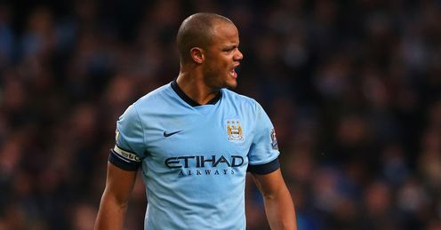 Vincent Kompany's displays have been questioned in recent weeks