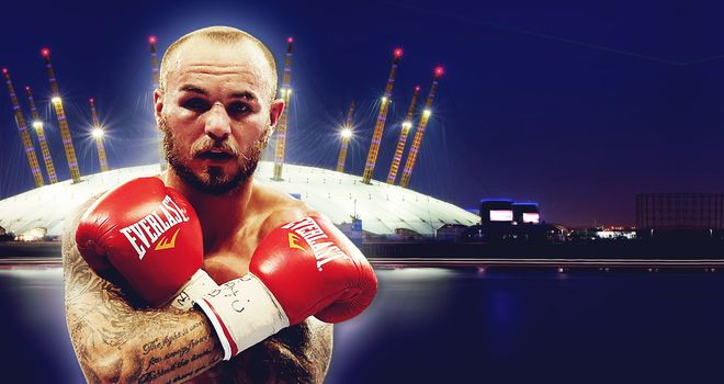 Kevin Mitchell Fights In The Headline Slot Of Fight Night Live This