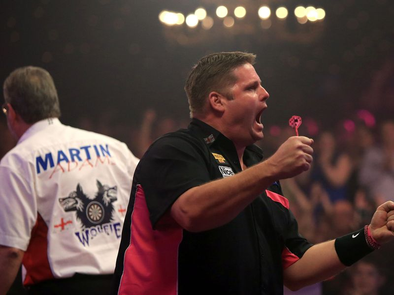 premier league darts standings