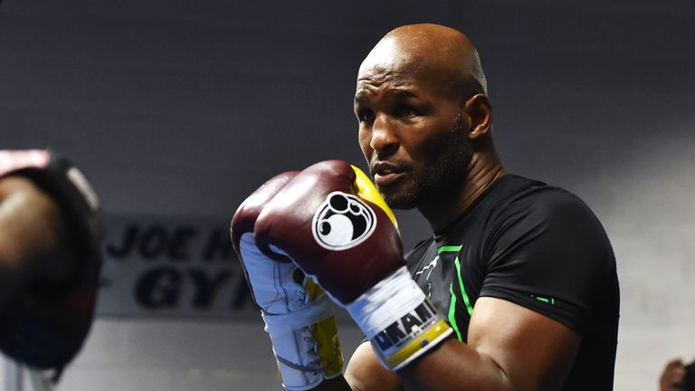 Bernard Hopkins: Hinting at bowing out against Golovkin