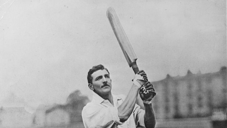 CB Fry of England and Surrey is one of only three men to score six first class centuries in successive innings, the others being Don Bradman and Mike Proctor