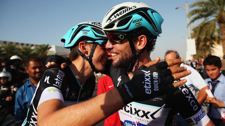 Dubai Tour Mark Cavendish Wins Opening Stage Ahead Of