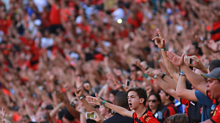 Recife fans will be kept in check by around 30 mums in Sunday's derby