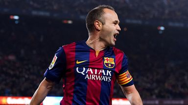 Andres Iniesta has a habit of being the best player in the biggest games