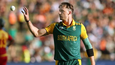 Dale Steyn: The fast bowler is battling a case of the flu