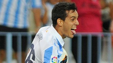 Juanmi: Opened the scoring for Malaga