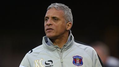 Keith Curle: Kept Griffiths absence quiet