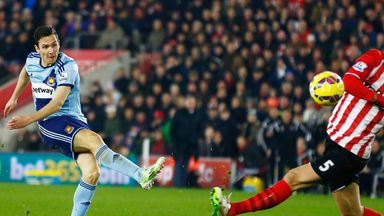 Stewart Downing: Thinks West Ham did well to draw at Southampton