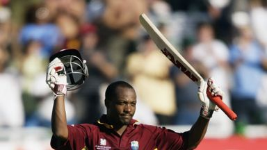 Brian Lara is putting his pads back on to play for Leo Lions