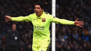 Luis Suarez: On target in win at Manchester City