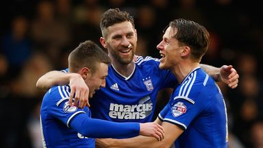 Freddie Sears (left) and Daryl Murphy (centre): Will start for Ipswich