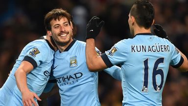 David Silva and Sergio Aguero are Manchester City's wealthiest players