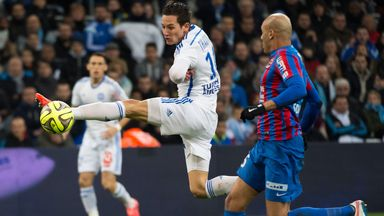 Florian Thauvin flicks the ball on