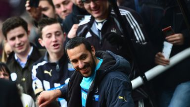 Jonas Gutierrez: Appeared to criticise Mike Ashley on his departure from the club