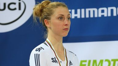 Laura Trott was devastated after Britain's defeat in the women's team pursuit at February's World Championships