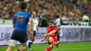Leigh Halfpenny: Kicked five penalties in Wales' win over France