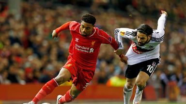 Jordon Ibe: Liverpool youngster in action against Besiktas