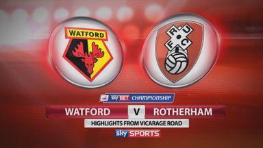 Watford 3-0 Rotherham