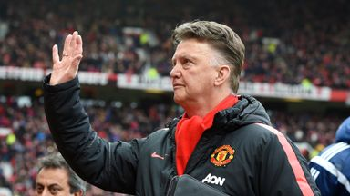 Louis van Gaal nominated for Barclays award following his best month as Manchester United manager