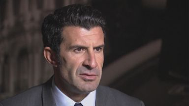 Luis Figo: One of four candidates for FIFA presidency