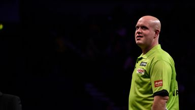 Michael van Gerwen: Had to settle for a solitary point