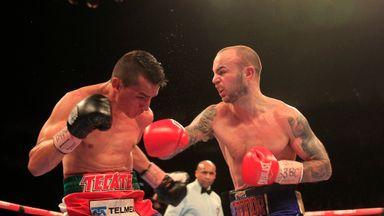 Kevin Mitchell stops Daniel Estrada