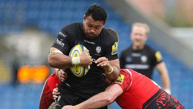 Ofisa Treviranus: Samoa captaincy a huge honour for London Irish flanker