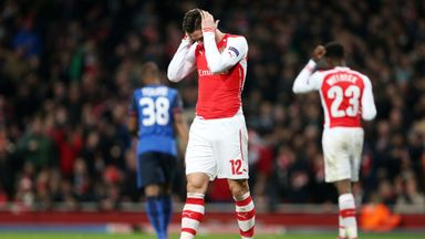 Arsenal were humbled 3-1 by Monaco on Wednesday