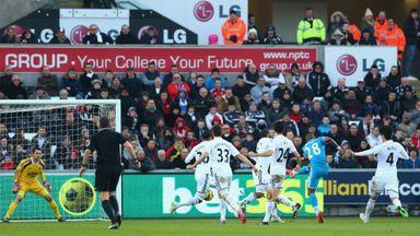 Jermain Defoe: Scores against Swansea