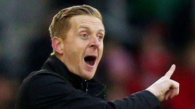 Garry Monk saw his Swansea side hold Borussia Monchengladbach