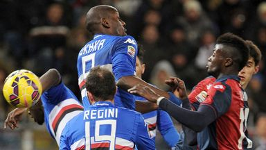 The spoils were shared between Sampdoria and Genoa