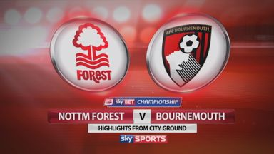 Nott'm Forest 2-1 Bournemouth