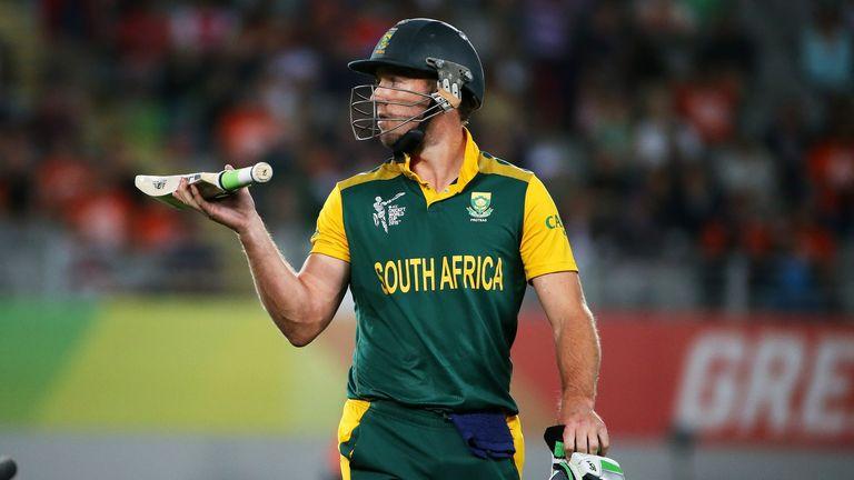 De Villiers' sparkling innings was in vain in Auckland