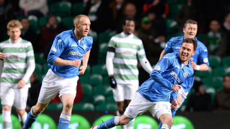Danny Swanson: The on-loan midfielder scored a sensational strike.
